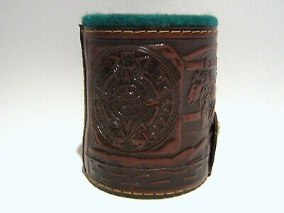 Cubilete / Leather Dice Cup. Hand Crafted in Mexico / Cubertura de Piel