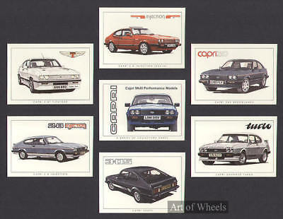 Capri Mk3 3000S 2.8 Injection 2.8T Tickford Trade Cards
