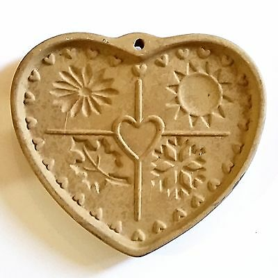 Seasons of Heart Cookie Press Vintage 1997 Pampered Chef Family Heritage m195
