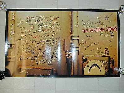 MFSL Rolling Stones Limited Edition Beggar's Banquest Poster