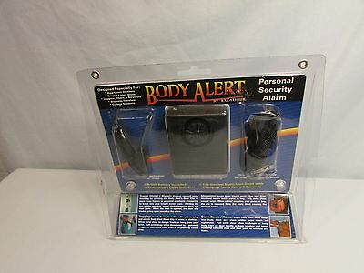 Body Alert, Personal Security Alarm In Sealed Plastic