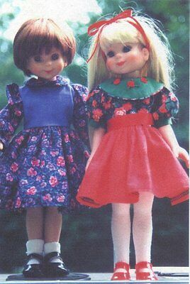 """Doll Clothes sew Pattern fits 13-14"""" Little Darling EFFNER BETSY McCALL KISH BJD"""