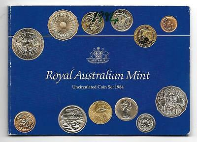 Royal Australian Mint 1984 Uncirculated Six Coin Set #1 - Free Postage