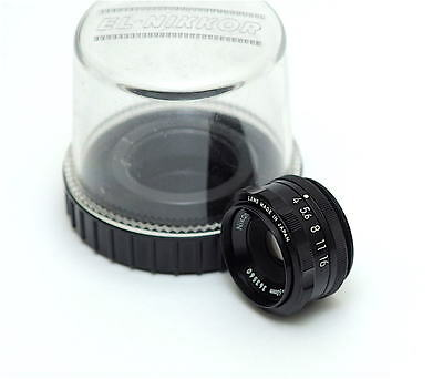 Nikon EL Nikkor 50mm f4 Enlarging Lens - Leica Screw Thread - Mint