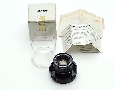 Minolta C E Rokkor 50mm f2.8 Enlarging Lens - Leica Screw Thread - Mint