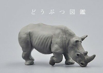 Miniature Planet Rhinoceros Rhino Animal PVC Mini Figurine Figure