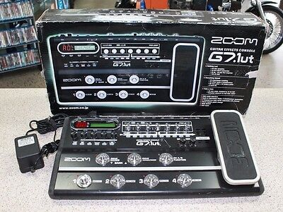 Zoom G7.1 Guitar Effects Console