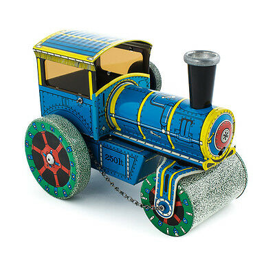 Handmade Wind Up Tin Toy Road Roller