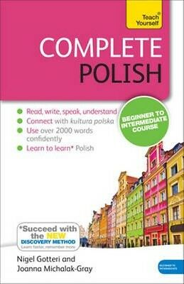 Complete Polish Beginner to Intermediate Course by Nigel Gotteri Paperback Book