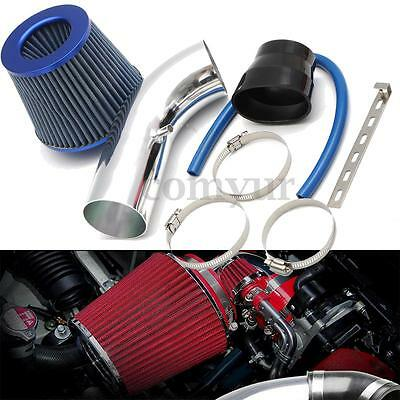 Universal Car Cold Air Intake System Turbo Induction Pipe Tube+Cone Filter Kits