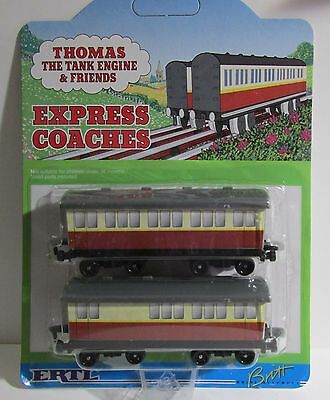 Thomas The Tank & Friends-Ertl Express Coaches Die Cast Metal 1996 **new/rare**