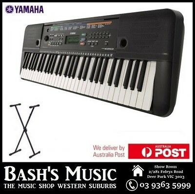 Yamaha Psre253 Keyboard Brand New 3 Year Warranty With Stand