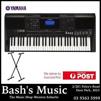 Yamaha Psre453 Keyboard Brand New 3 Year Warranty With Stand