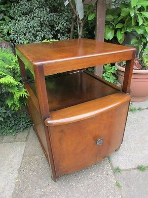 ANTIQUE WOODEN 1930s-1940s RECORD CABINET