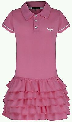 Girls Pink Tennis dress frills Junior Tennis Dress Golf age 4-16 year