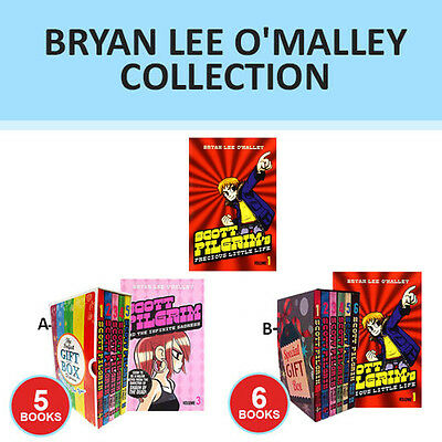 Scott Pilgrim Series Collection By Bryan Lee O'Malley Gift Wrapped Set New