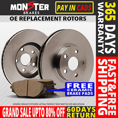 Rear Rotor C Pad 2008 2009 Chrysler Town & Country