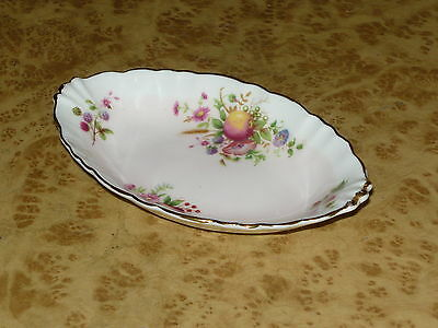 Foley English Bone China 1850 Dish Bonbon Sweet Fruits Butter Vintage Bowl