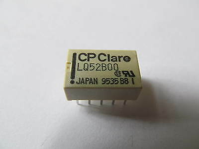 CP Clare  LQ52B00   REED RELAY  5V 2A  THT DPDT