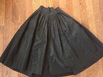 Vintage 40's/ 50's Evening Party Circle Skirt