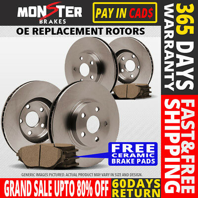 F R Rotor C Pad 2003 2004 2005 2006 Ford Expedition