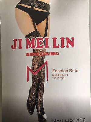 Fishnet Pantyhose Lace Garter Belt 4 Adjustable Suspender Lady Girl's Night Club