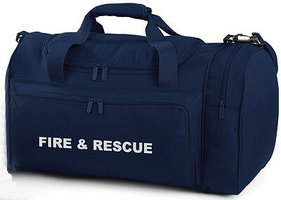 1 x FIRE & RESCUE Navy Holdall/Work Bag Ideal for Emergency Services