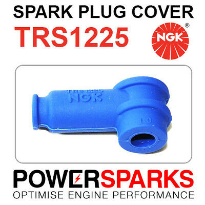 TRS1225-B NGK Spark Plug Cover [8787] Blue 90° Compact Type Silicon Rubber