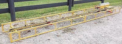 NEW 16 FT SQUARE HAY BALE ELEVATOR WITH NEW ELECTRIC  MOTOR *We Ship Cheap*