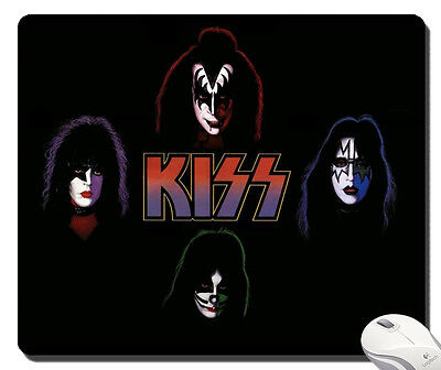 Kiss Band mousepad MOUSE PAD for game office gift