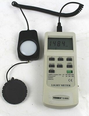 Tenner 72-6693 Light Meter 100,000LUX