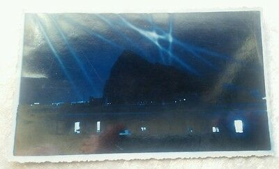 WW2 Gibraltar postcard spotting enemy aircarft at night EXTREMELY SCARCE