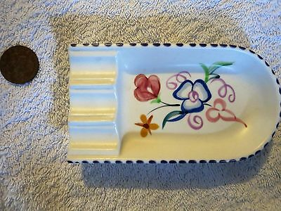 Vintage 1960's Poole Pottery Ashtray