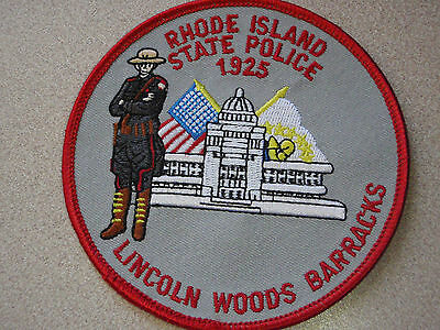 Rhode Island State Police Lincoln Woods  Barracks