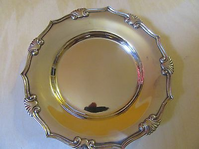 """Tiffany Co Makers Sterling Silver 6.54"""" Dish Plate .No Monogrammed"""