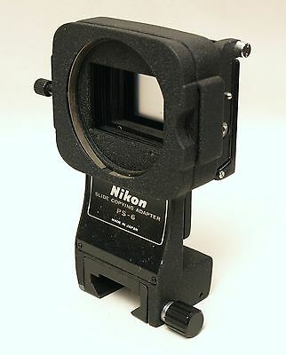 Nikon Genuine PS-6 Slide Holder for PB-6 Macro Bellows