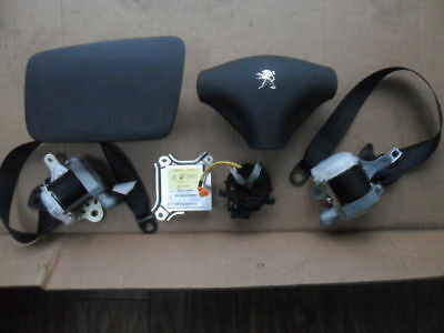 Citroen C1 complete airbags airbag kit with seatbelts and squib