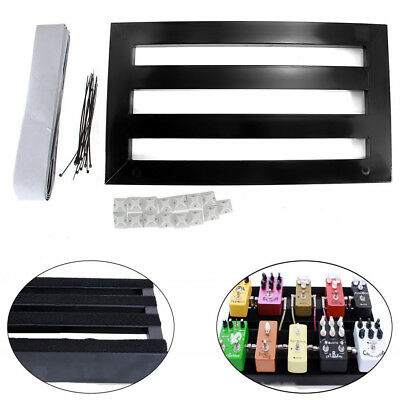 High Quality Metal Pedalboard with Adhesive Tape Guitar Players DIY Parts