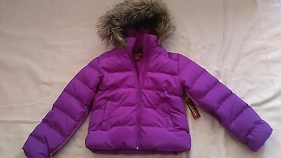 Special Needs Purple Girls Winter Coat sz 7/8