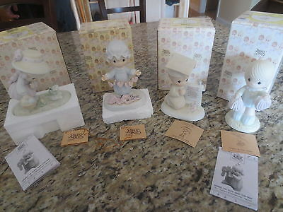 Lot 10 Pc Precious Moments Figures Original Boxes & Tags