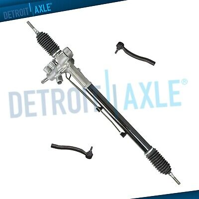 Complete Power Steering Rack and Pinion Assembly + Outer Tie Rod Links for Acura