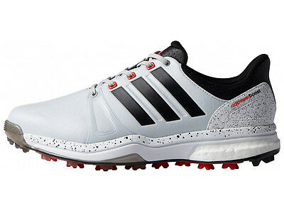 Adidas Adipower Boost 2 Golf Shoes - Clear Grey/Core Black