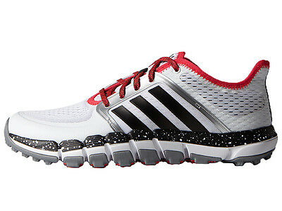 Adidas ClimaChill Tour Shoes - White/Core Black/Shock Red