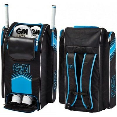 2017 Gunn and Moore 707 Black Blue Duffle Cricket Bag