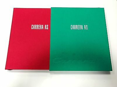 Thomas Gruber and Dr Georg Konradsheim Porsche Carrera RS Book Rare Ltd Edition