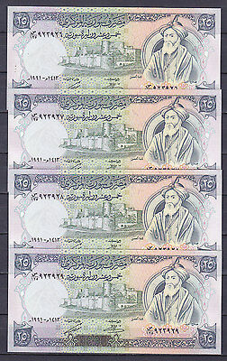 Syria .25 Pounds 1991  Unc .(2.99 $ For One Note)