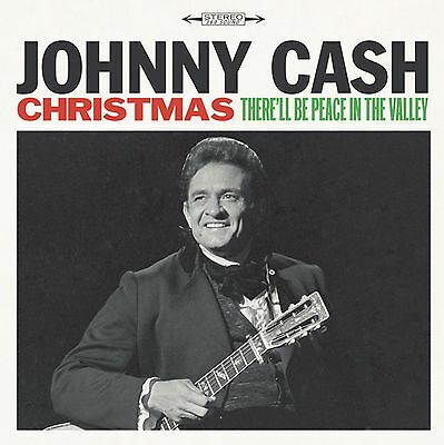 """Johnny Cash """"christmas: there'll be peace in the valley"""" Vinyl LP NEU 2016"""