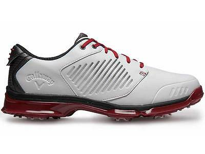 Callaway Xfer Nitro Golf Shoes - White/Red