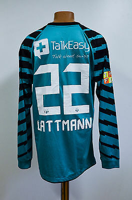 Zurich Switzerland Match Worn Goalkeeper Football Shirt Jersey Nike Lattmann #22