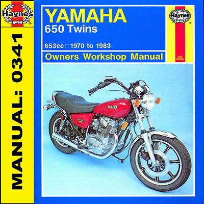 Yamaha XS650 XS650SE 650 Special Twins 1970-1983 Haynes Manual 0341 NEW